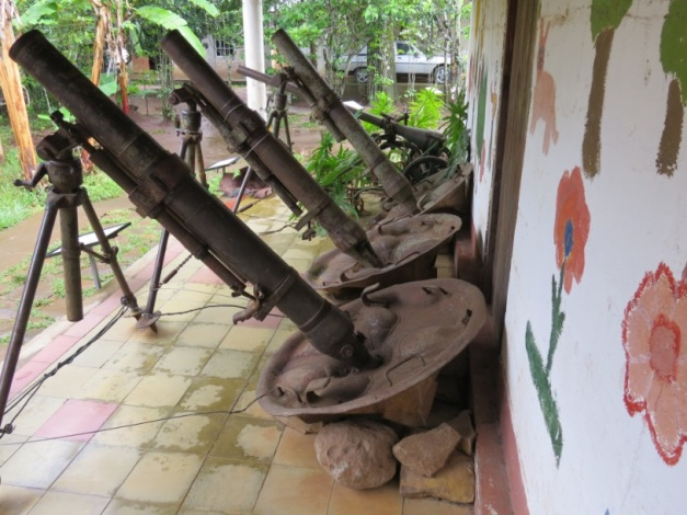Civil War Museum in Perquin, EL Salvador