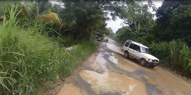 Río Dulce - Coban, Guatemala