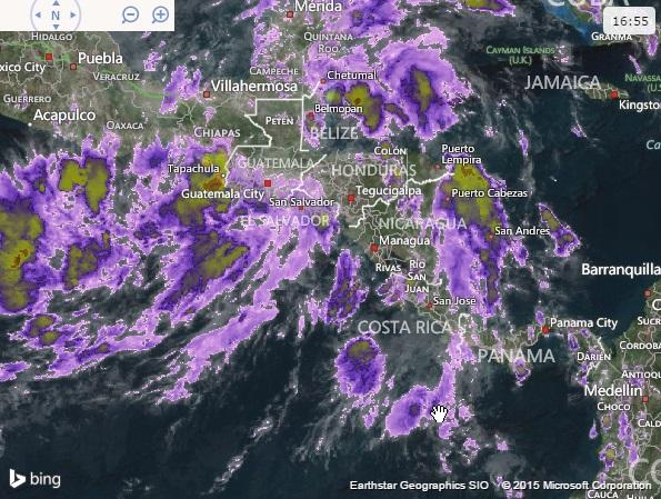 Weather forecast EL Salvador