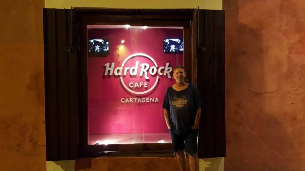 Hard Rock Cafe Cartagena.