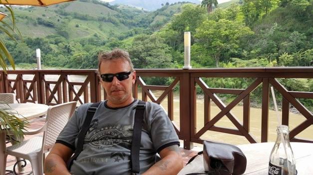 La Pintada til kaffe plantasjen Hacienda Guayabal, Manizales