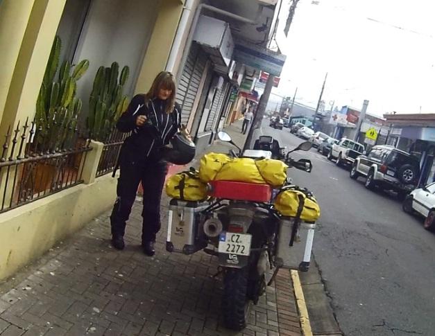 Sykkelen ferdig pakket i San Jose, Costa Rica