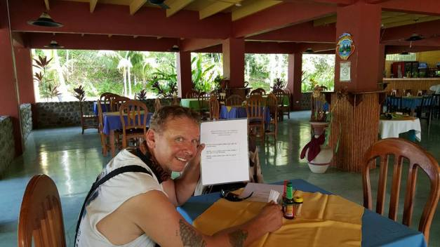 Frokost i Costa Rica