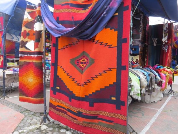 Plaza de Ponchos, Otavalo, Ecuador