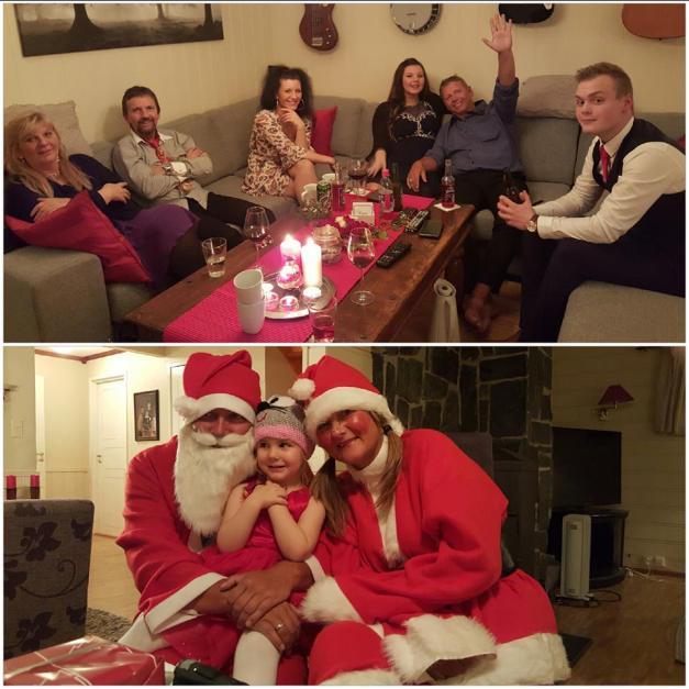 Julenissen kom overraskende i år :-)
