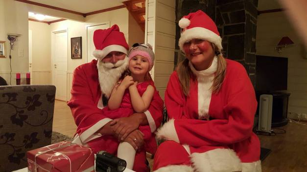 Julenissene kom til Annabelle