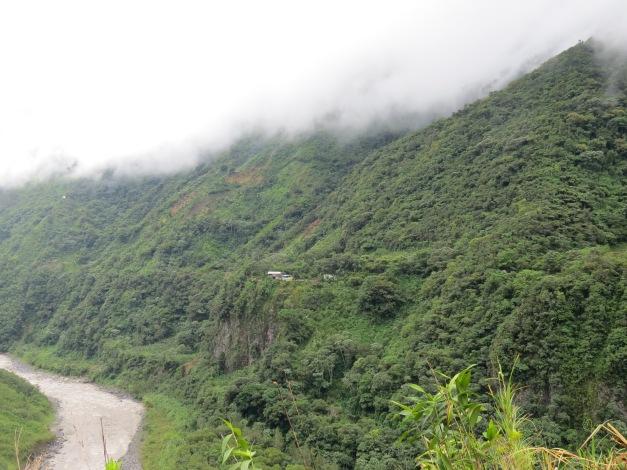Puyo - Banos (de Agua Santa), Ecuador