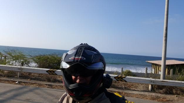 På vei mot Mancora, Peru