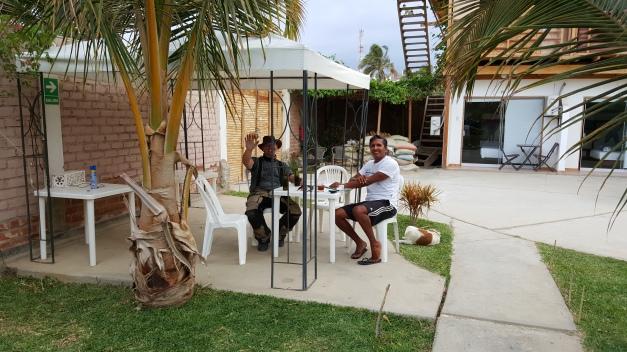 Casa Villa Hotel i Mancora, Peru