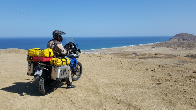 BMW F800GS Trophy i Peru