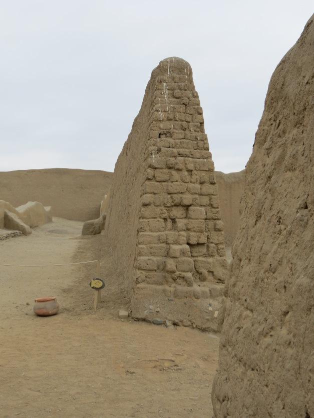 Chimor'ene sin hovedstad Chan Chan, Peru
