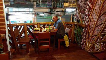 50 år feiring i Puyo, Ecuador