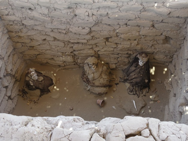 Chauchilla Cemetery, Nazca Peru