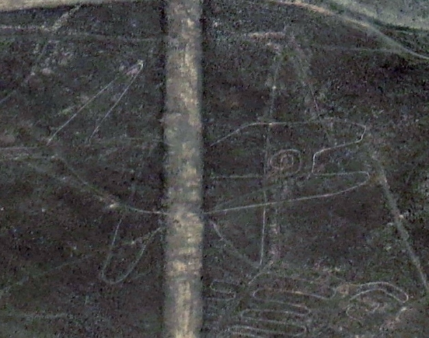 Nazca lines. The whale