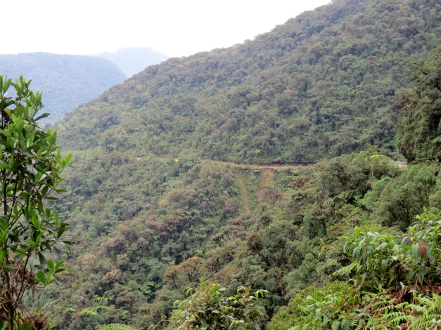 Yungas Road - Death Road - The Most Dangerous Road