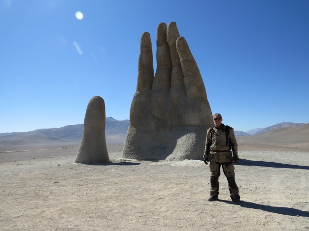 Mano del Desierto, Hand in the desert, Antofagasta