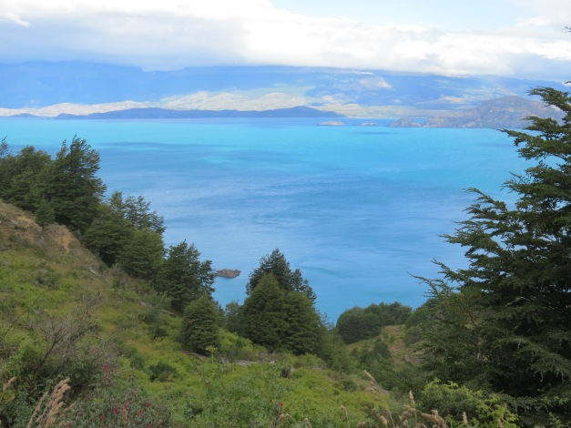 ice-blue lakes, Carretera Austral, Chile