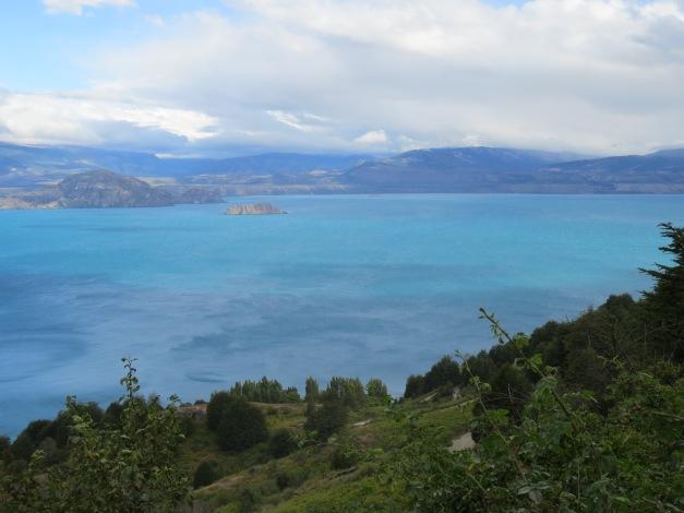 ice-blue lakes, Carretera Austral, Chile