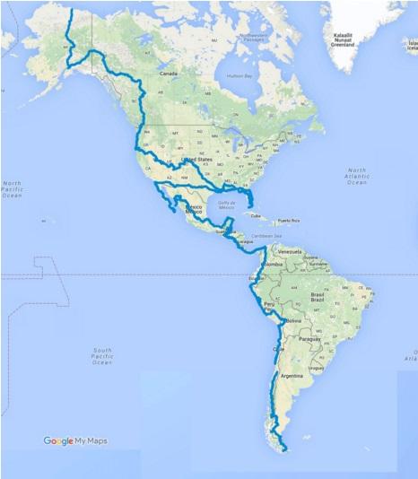 I did it. Alaska - Argentina