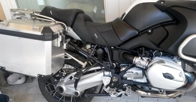 BMW R1200GSA Powerbronze Comfort Seat