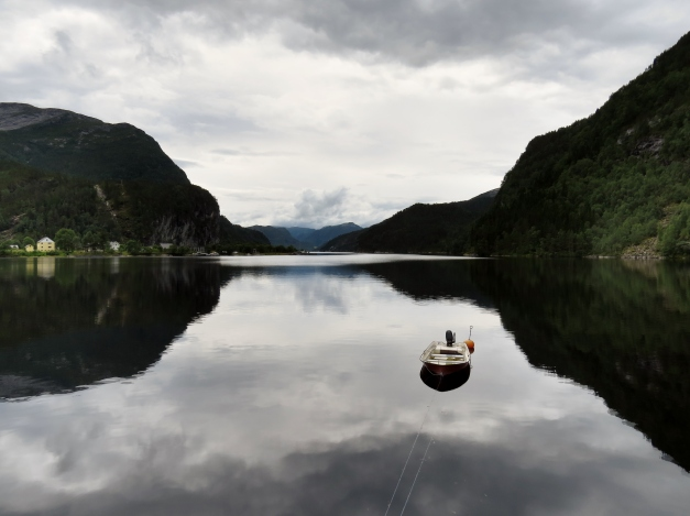 Eidslandet ligger innerst i Eidsfjorden