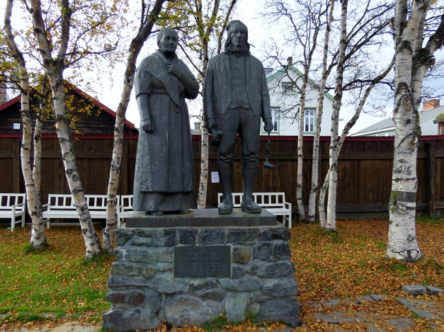 Bergmannen og hans hustru