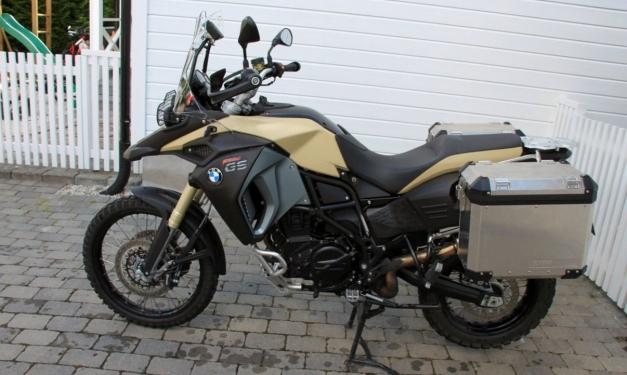 BMW F800GSA 2014