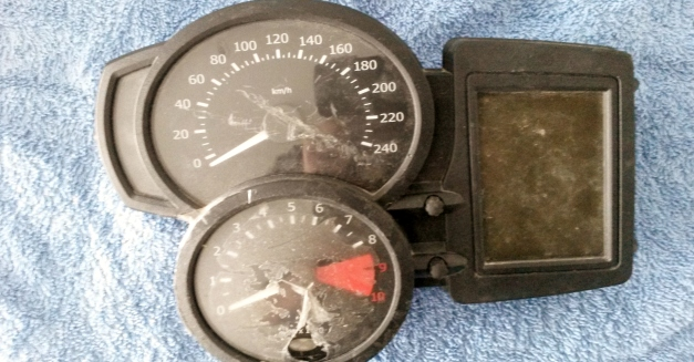 Plastic Speedometer Tachometer Gauge Case For BMW F800GS