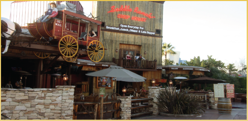 Saddle Ranch Universal Studios Hollywood