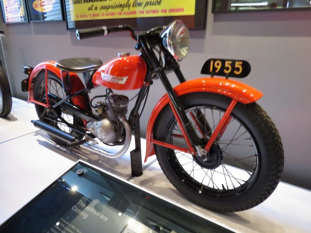 Harley Davidson 1955