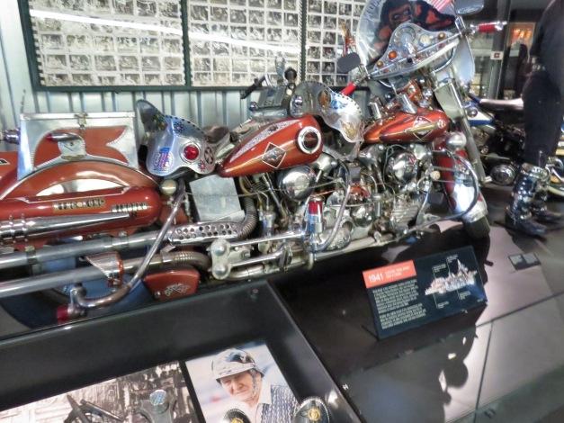 "1941 Harley Davidson Custom OHV V-Twins ""King Kong"""