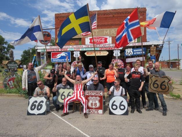 Harley, the redneck from Erick, Oklahoma