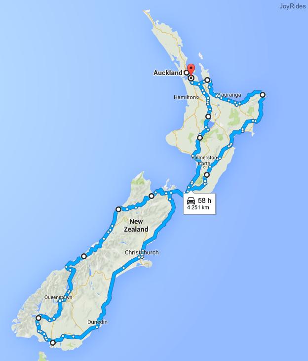 New Zealand Roundtrip