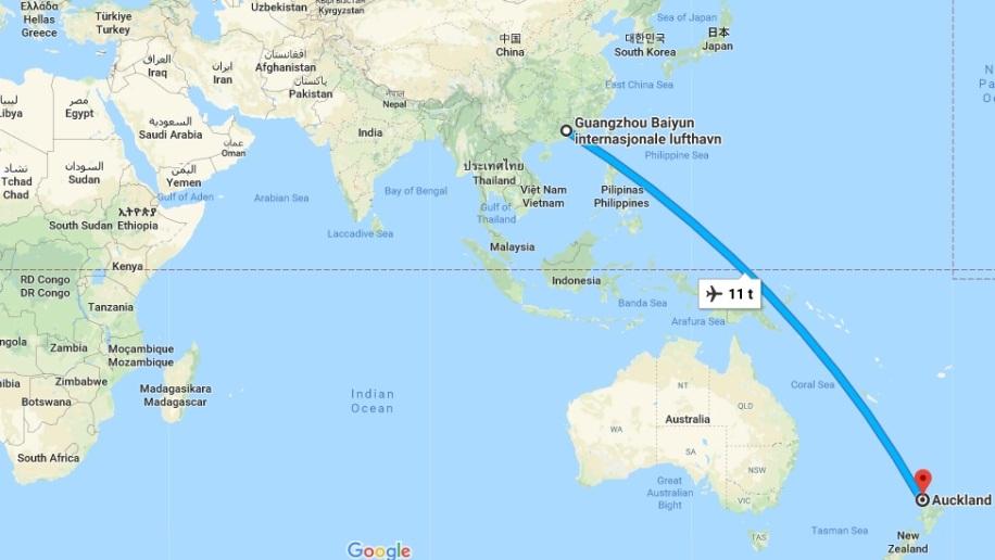 China - New Zealand