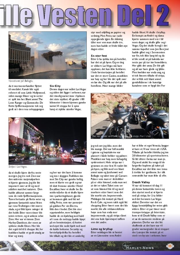 Harley News, Wild West