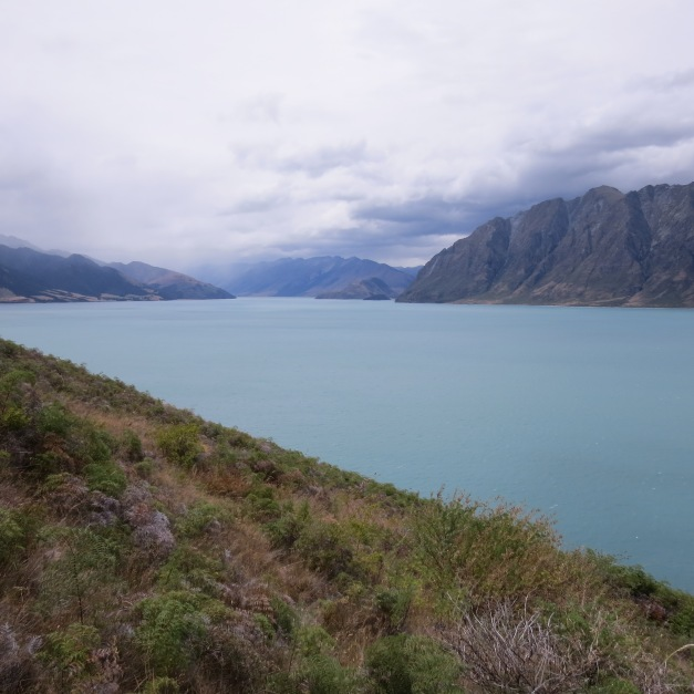 Fra Fox Glacier til Queenstown