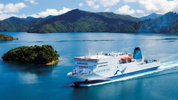 Ferry Wellington til Picton